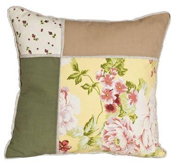 Resim Yastıkminder Dört Bölümlü Ağacında Çiçek Yastık