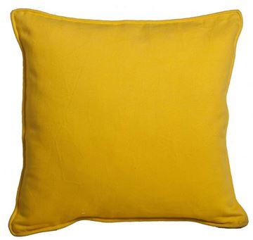 Resim Yastıkminder Koton Sarı Dekoratif Yastık KILIFI