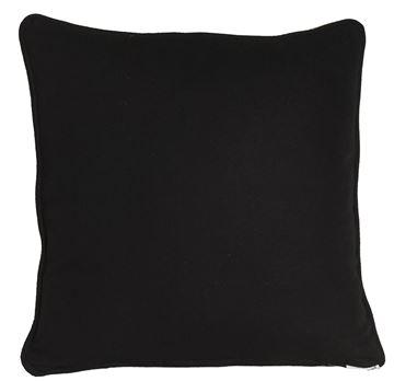 Resim Yastıkminder Koton Siyah Dekoratif Yastık KILIFI