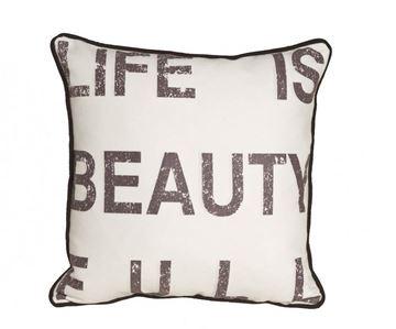 Resim Yastıkminder Koton Dijital Life Is Beautiful Yastık