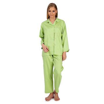 Resim Koton Saten Yeşil Pijama