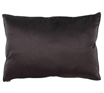 Resim Yastıkminder Tafta Siyah Dekoratif Yastık
