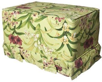 Resim Koton Tropikal Çiçek Desenli Fıstık Puf