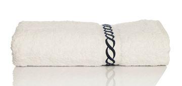 Resim Koton Beyaz Nakışlı 74X140 Havlu