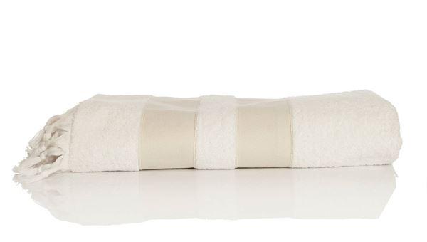 resm Koton Beyaz Kum Saçaklı 170x98 Havlu