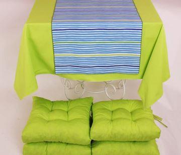 Resim Koton Fıstık Yeşil 4 lü Minder Seti