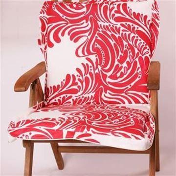 Resim Koton Kırmızı Beyaz Nano Çanta Şezlong Minderi