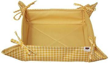 Resim Koton Sarı Kapitone ekmek sepeti