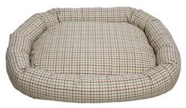 resm Yastıkminder Ekose Desenli Köpek Yatağı