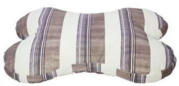Resim Yastıkminder Kalın Çizgil Kemik Köpek Yatağı