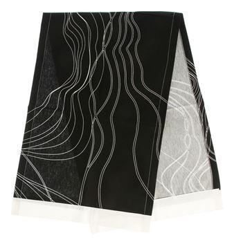 Resim Koton Siyah Beyaz Çizgili Desen Runner