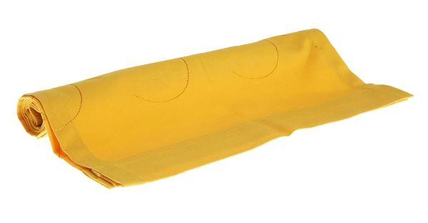 resm Koton Sarı Yaprak Nakışlı Runner
