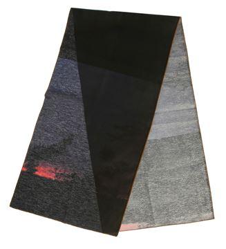 Resim Koton Siyah Oranj Gece Manzaralı Runner