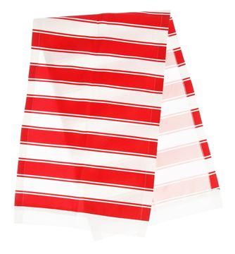 Resim Koton Kırmızı Beyaz Çizgili Runner