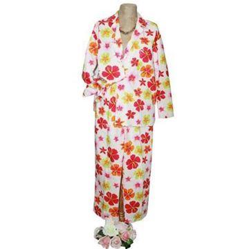 Resim Koton Ekru Mercan Menekşe Çiçekler Pijama