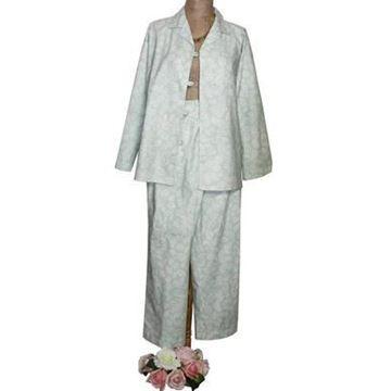Resim Koton  Mavi Yaprak Desenli Pijama