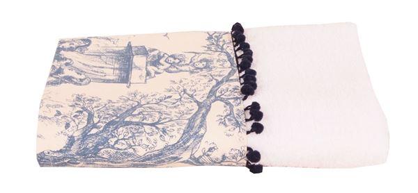resm Koton Beyaz Aplike Edilmiş 100x55 havlu