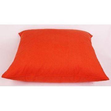 Resim Koton Kanvas Oranj Yer Minderi