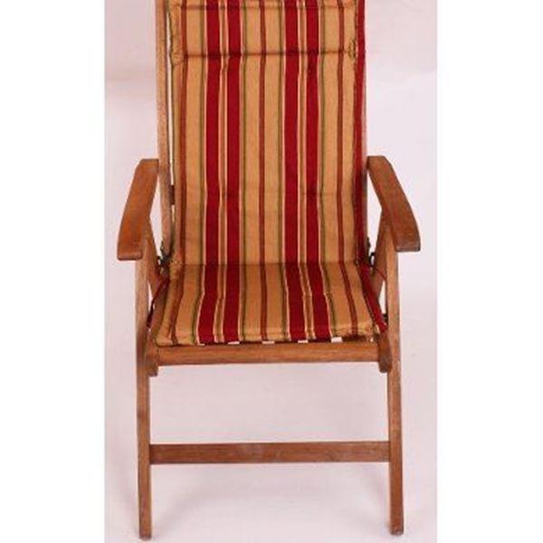resm Koton Çift Kademeli Bordo Çizgili sandalye minderi Minderi