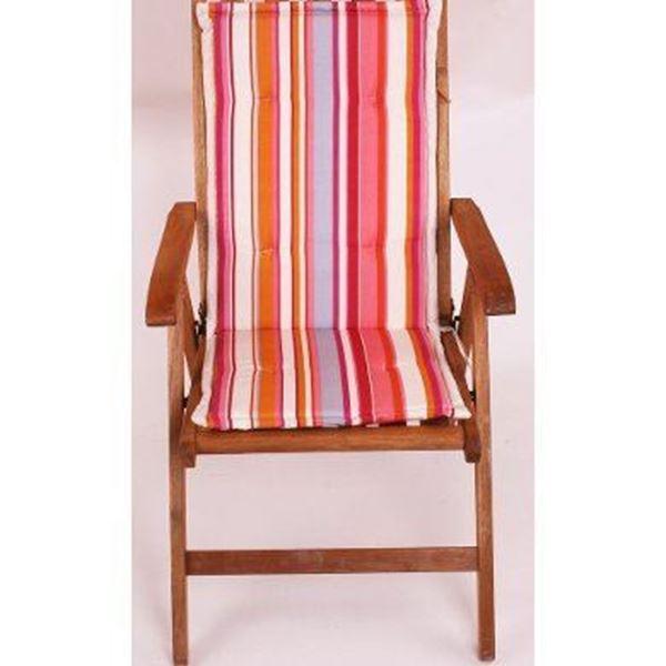 resm Koton Çift Kademeli Pembe Çizgili sandalye minderi Minderi