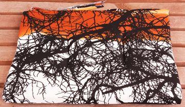 Resim Koton Oran Ağaç Desen Sandalye Minderi