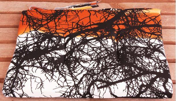 resm Koton Oran Ağaç Desen Sandalye Minderi
