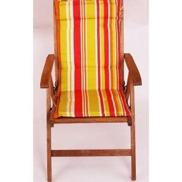 Resim Koton Polyester Çift Kademeli Fıstık Kırmızı sandalye minderi