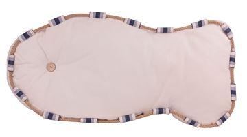 Resim Yastıkminder Koton  Beyaz Balık Formunda Dekoratif Minder