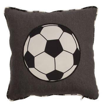 Resim Koton Futbol Topu Aplikeli Dekoratif Yastık