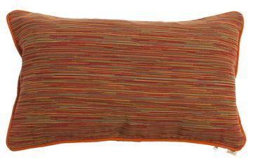 Resim Koton  Oranj İkad Çizgili Dekoratif Yastık Kılıfı