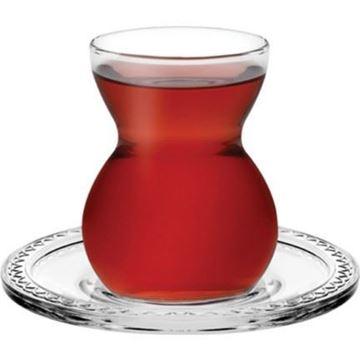 Resim Paşabahçe 12 Parça Etnik Çay Takımı